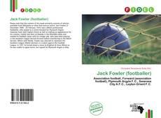 Обложка Jack Fowler (footballer)