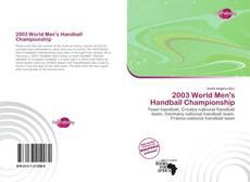 Portada del libro de 2003 World Men's Handball Championship