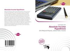 Bookcover of Absolute Income Hypothesis