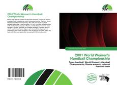 Portada del libro de 2001 World Women's Handball Championship