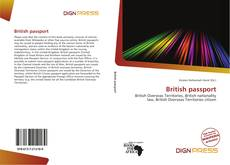 Capa do livro de British passport