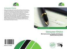 Bookcover of Consumer Choice