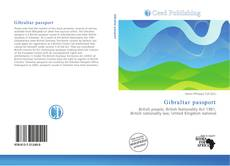 Bookcover of Gibraltar passport
