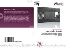 Bookcover of Alexander Cooke