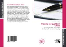 Income Inequality in China kitap kapağı