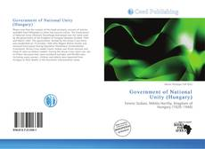 Copertina di Government of National Unity (Hungary)