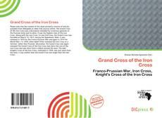 Buchcover von Grand Cross of the Iron Cross