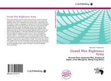 Grand Han Righteous Army的封面