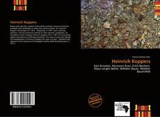 Bookcover of Heinrich Koppers