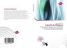 Bookcover of Liberté de Religion