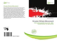 Buchcover von Greater Britain Movement