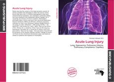 Portada del libro de Acute Lung Injury