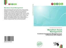 Bookcover of Marathon Asset Management