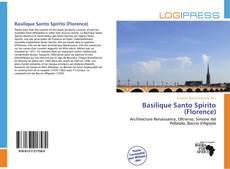 Bookcover of Basilique Santo Spirito (Florence)