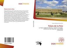 Couverture de Palais de la Paix