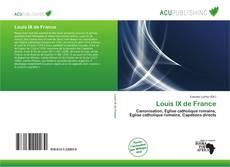 Buchcover von Louis IX de France