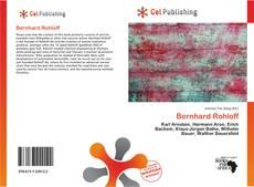 Bookcover of Bernhard Rohloff