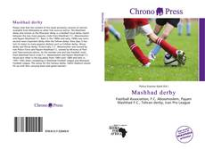 Bookcover of Mashhad derby