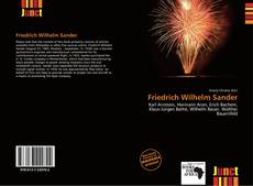 Portada del libro de Friedrich Wilhelm Sander