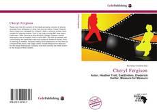Buchcover von Cheryl Fergison