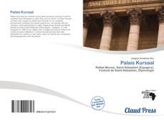 Bookcover of Palais Kursaal