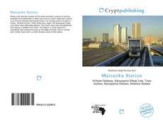 Bookcover of Matsuoka Station