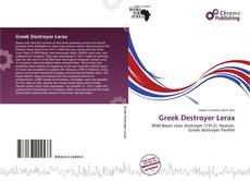 Bookcover of Greek Destroyer Lerax
