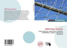 Capa do livro de 1989 Copa América