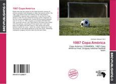 Capa do livro de 1987 Copa América