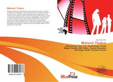 Bookcover of Mahesh Thakur