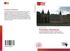 Bookcover of Françoise d'Amboise