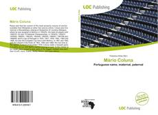 Capa do livro de Mário Coluna