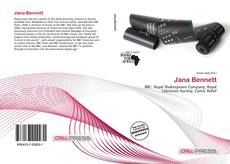 Bookcover of Jana Bennett