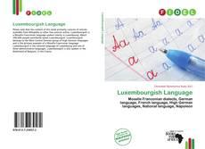 Luxembourgish Language kitap kapağı