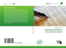 Bookcover of Economy of Nauru
