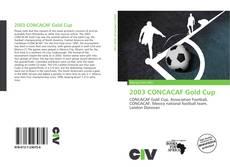Capa do livro de 2003 CONCACAF Gold Cup