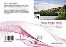 Обложка Gorge d'Ovčar-Kablar