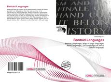Bookcover of Bantoid Languages
