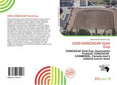 Capa do livro de 2000 CONCACAF Gold Cup