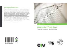 Bookcover of Australian Trust Law