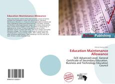 Buchcover von Education Maintenance Allowance