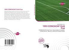 Capa do livro de 1993 CONCACAF Gold Cup