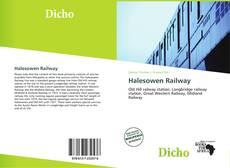 Обложка Halesowen Railway
