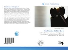 Bookcover of Health and Safety Law