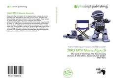Bookcover of 2003 MTV Movie Awards