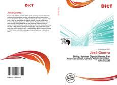 Capa do livro de José Guerra