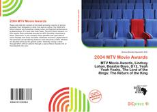 Bookcover of 2004 MTV Movie Awards
