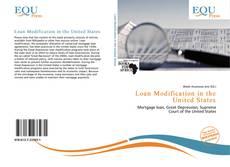 Portada del libro de Loan Modification in the United States