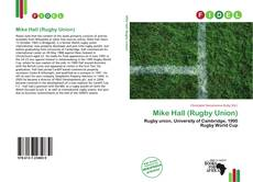 Обложка Mike Hall (Rugby Union)