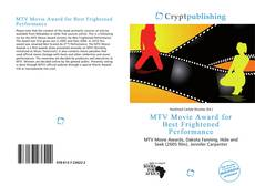 Bookcover of MTV Movie Award for Best Frightened Performance
